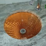 Back Light Glass Sink