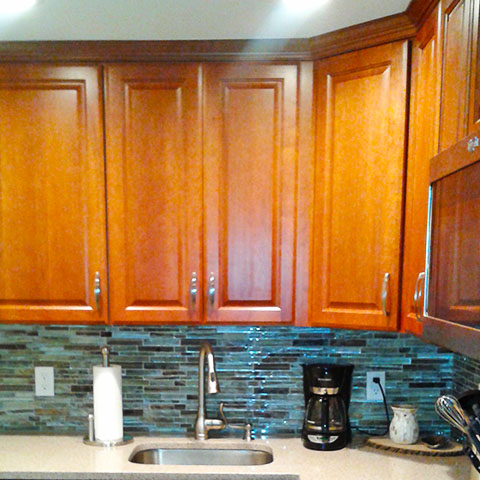 Kitchen Backsplash Cabinets